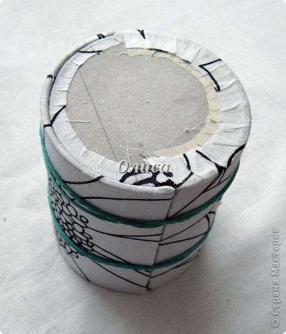 Мастер-класс Моделирование: Картонаж. МК Картон, Ткань. Фото 11