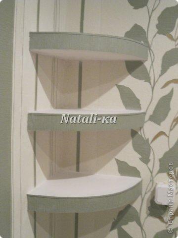 Полочка в ванную из дсп