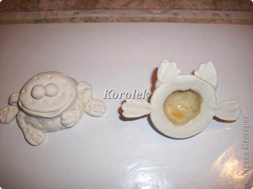 Мастер-класс, Поделка, изделие Вырезание, Лепка: Лягушата из солёного теста. Тесто соленое. Фото 15
