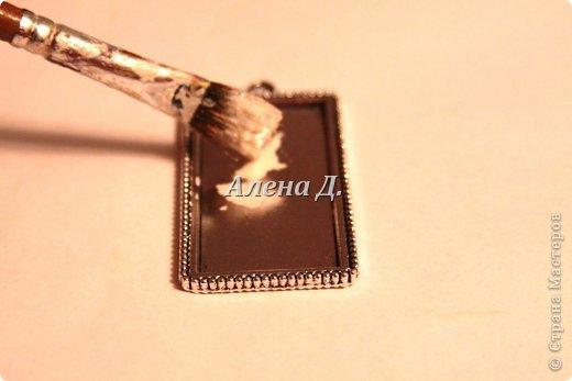 Мастер-класс: Кулон и браслет из эпоксидки.. Фото 13