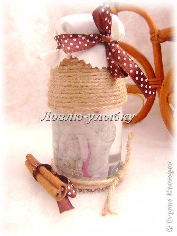 Декор предметов: Мишка в банке Банки стеклянные Новый год, Рождество. Фото 1