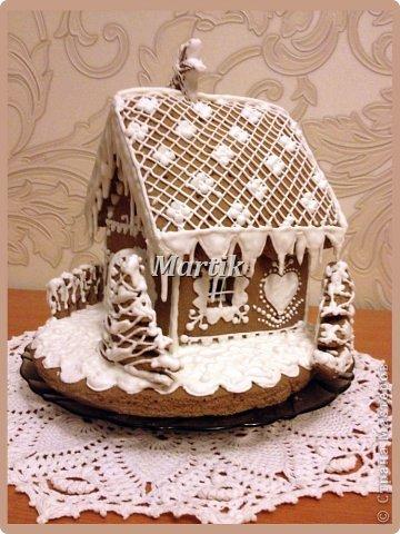 Кулинария: Пряничный домик Продукты пищевые Рождество. Фото 3