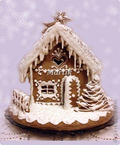 Кулинария: Пряничный домик Продукты пищевые Рождество. Фото 2