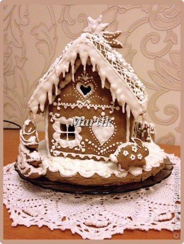 Кулинария: Пряничный домик Продукты пищевые Рождество. Фото 5