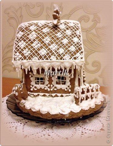 Кулинария: Пряничный домик Продукты пищевые Рождество. Фото 4