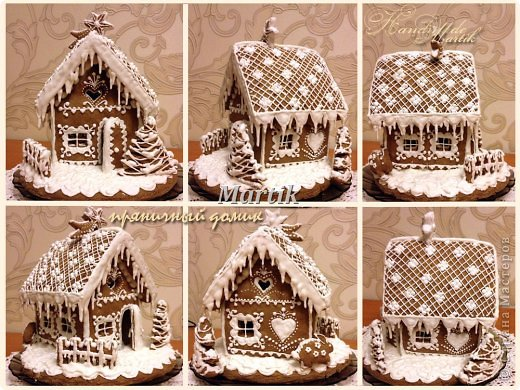 Кулинария: Пряничный домик Продукты пищевые Рождество. Фото 7