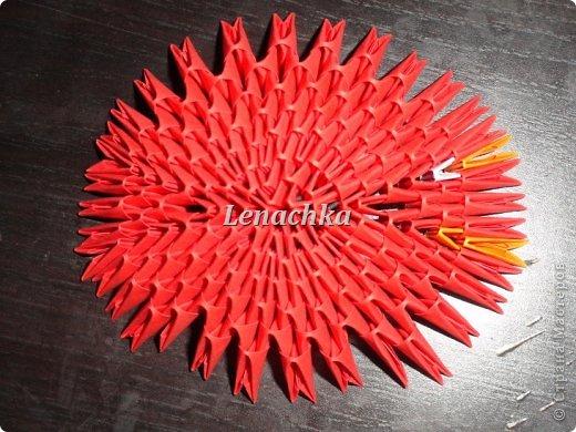Мастер-класс Оригами модульное: МК сердечка  Бумага Валентинов день. Фото 7