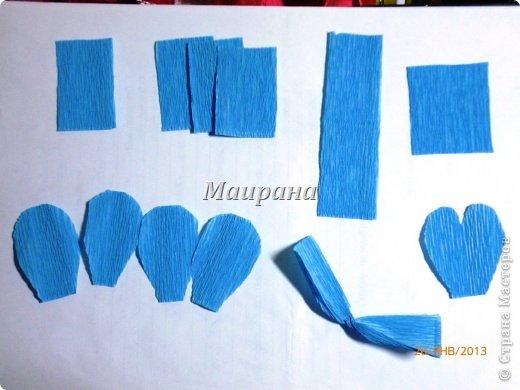 Мастер-класс, Свит-дизайн Бумагопластика: МК АНЮТИНЫ ГЛАЗКИ свит-дизайн Бумага гофрированная, Клей, Краска, Продукты пищевые. Фото 3