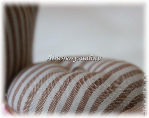 Мастер-класс, Поделка, изделие Моделирование, Шитьё: Игольница-стульчик Картон, Материал бросовый, Ткань. Фото 4