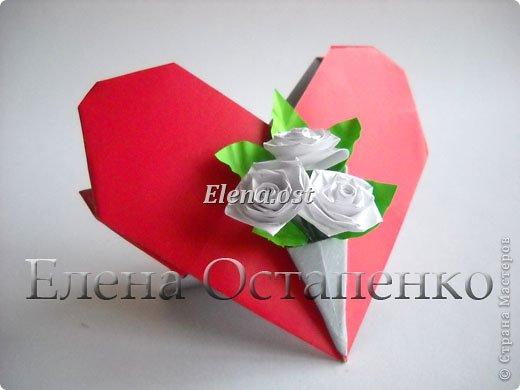 Инструкции оригами подарок маме