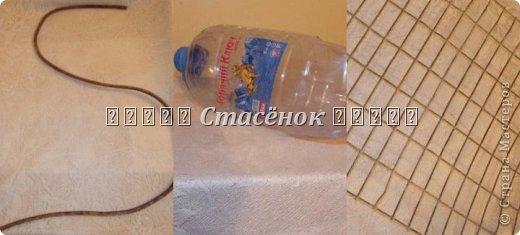 """Мастер-класс Лепка:  """"Лебеди в сад"""" Бутылки пластиковые, Гипс, Проволока. Фото 2"""