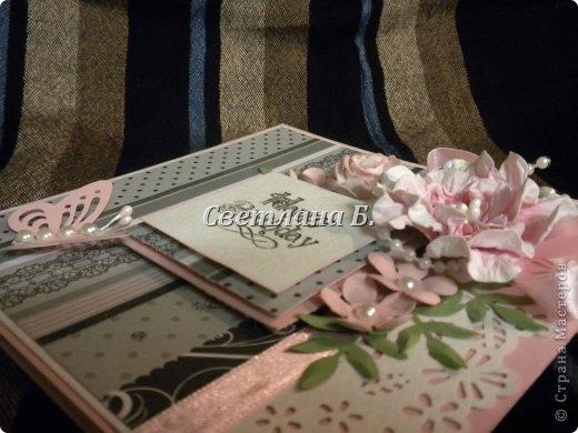 Мастер-класс, Открытка Ассамбляж: Открытка для англичанки и МК цветка Бумага, Картон День рождения. Фото 3