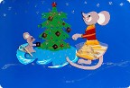 Мышки под ёлкой