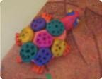Разноцветные черепашки