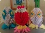 Техника: Оригами модульное Спасибо всем кто поделился схемой пасхального яйца.  Автор: sigma-elena Источник: Страна...