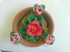 Декоративная тарелочка