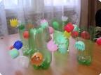 Поделки для сада из киндер яиц своими руками