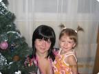 Это мы с дочкой