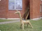 Животные из сена
