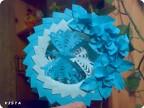 Бумажные фантазии в синих тонах