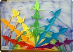 """Журавли"", оригами"