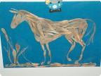 лошадка из природного материала