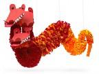 Красный трехглавый дракон