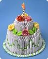 Торт на День рождения (низкокалорийный)