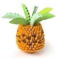 Мини-ананас из модулей