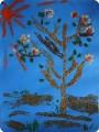 Деревце из опилок