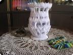 Временно белая ваза