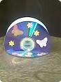 салфетница из дисков