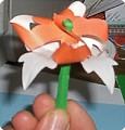 Изготовление ГВОЗДИКИ из цветной бумаги