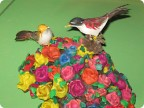 Пластилиновые розы