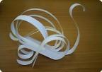 Лебеди из бумажной полоски