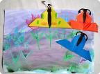 Бабочки на летнем лугу