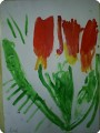 Тюльпаны от малышей