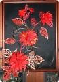Цветы из ткани своими руками при помощи выжигателя
