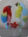 МК на изготовление попугайчика