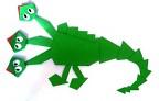 Змеюшка-Драконюшка бумажный