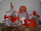 Куколки из шпагата и ниток