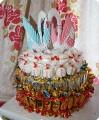 свадебный тортик!!!