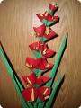 Поделка, изделие Оригами: Цветы на основе мастер-класса Страны Мастеров Бумага.