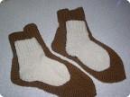 Носочки для папы и сыночка