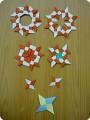 Сюрикен и орнаменты из сюрикенов
