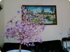 Бисерное дерево с пайетками