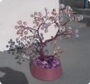 дерево из бусин чешского стекла