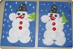 Вот и наши снеговички
