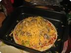 пицца от мини-шефа (доверила сыну кухню)