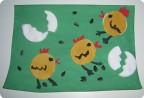 Цып-цып-цып, мои цыплятки, барашка и гриб
